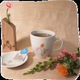 een gezellig lekkergrotemok thee!