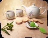 eigenwijs kopje thee