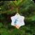 kerstster van porselein fijn kerstbeest