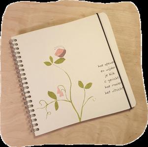 notitieboek uitzicht