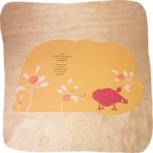 placemat ander pad